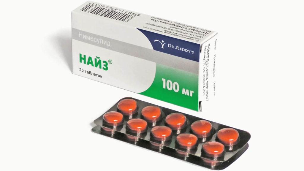 «Найз» таблетки - состав, свойства, показания и противопоказания